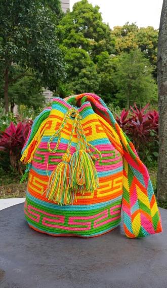 Bolso Mochila Wayuu