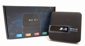 Tv Box M18 4k, Conversor A Smart Tv 2gb Ram.