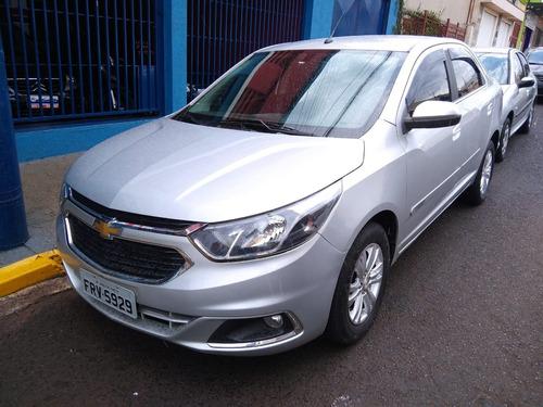 Chevrolet Gm Cobalt Ltz 1.8 Prata 2018