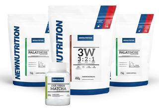3w Protein+ 2 Palatinose+ Matcha Newnutrition