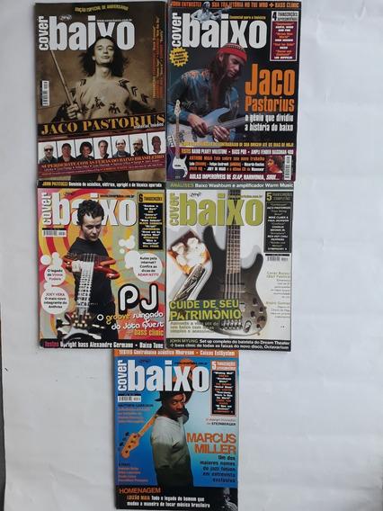 Cover Baixo 10 Revistas Traz Dicas Técnicas Gravações Raras