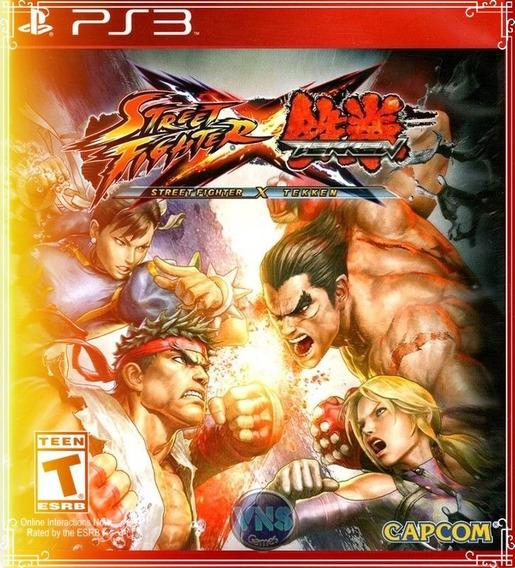 Street Fighter Vs Teken Ps3 Via Pendrive