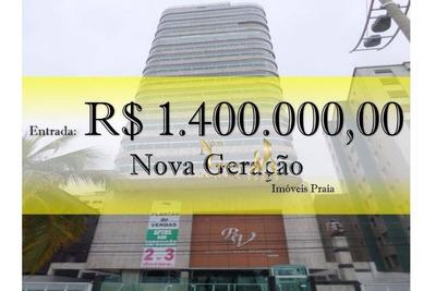Cobertura Em Praia Grande, Campo Da Aviação, R$1.400.000,00 Entrada. - Co0009