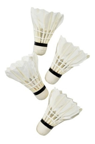 Kit Com 12 Petecas Badminton