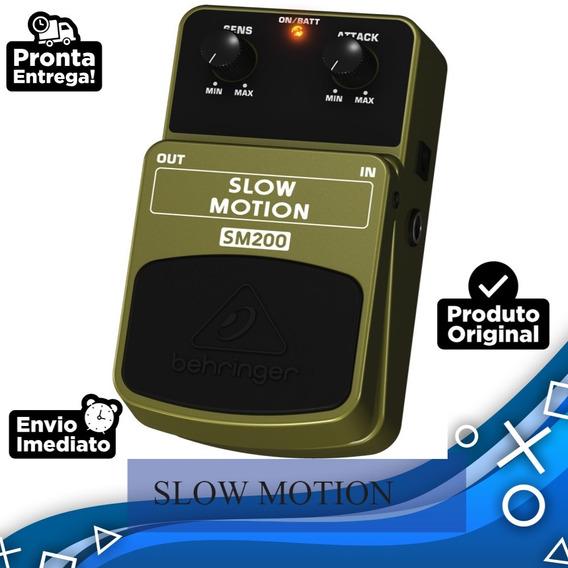 Pedal De Efeito P/ Guitarra Slow Motion Behringer Sm200