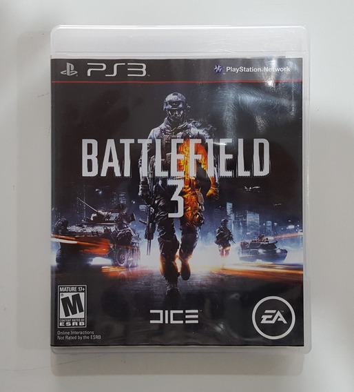 Battlefield 3 Ps3 Playstation 3 Física Original Envio 12,00
