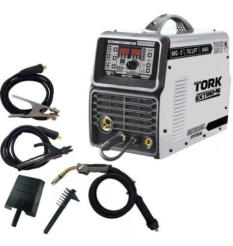 Inversora Solda Mig Eletrodo Tig 350a Trifasica- Imets-12350