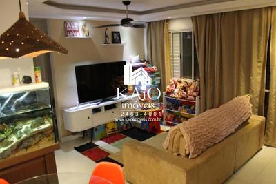 Apartamento No Atua De 65m² Com 3 Dormitórios 1 Suite, Vila Endres - Ap1157