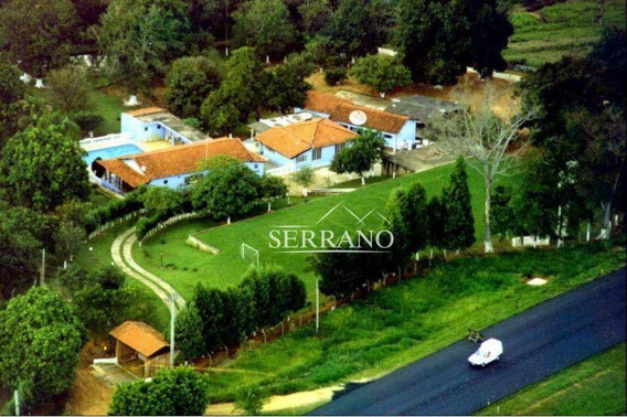 Chácara Com 6 Dormitórios À Venda, 24000 M² Por R$ 1.200.000,00 - Palmeira Do Rancho Novo - Estiva Gerbi/sp - Ch0017