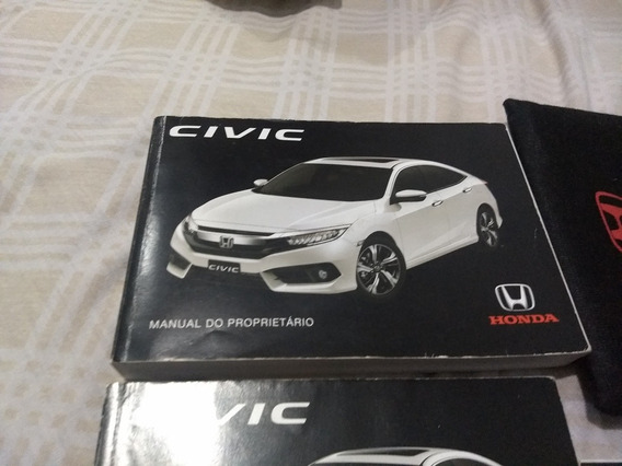 Manual Proprietario Honda Civic 2016