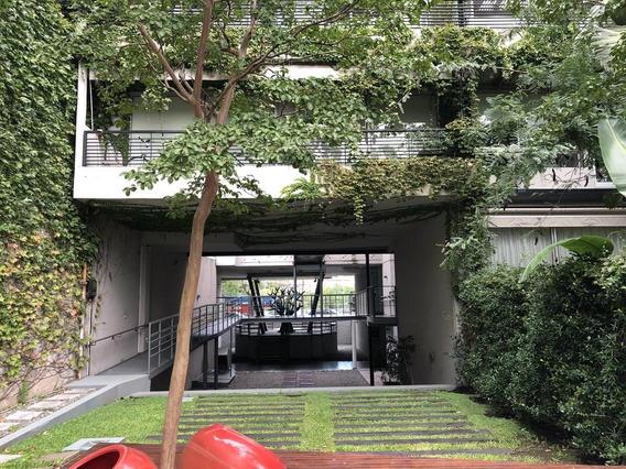 Venta Con Renta Departamento En Dúplex Colegiales - 3 Ambientes Y Jardín Privado