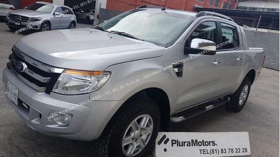 Ford Ranger Limited 2016 Std Crew Cab Gasolina $285,000