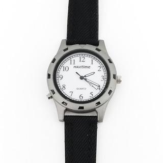Reloj Hombre Pulsera Max Time Analógico C/caja - Mx01-001bl