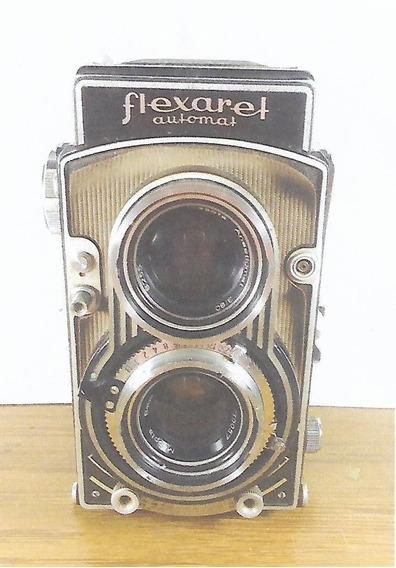 Câmera Flexaret Automat + Adaptador Para 35 Mm.