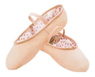 Zapatilla De Ballet Capezio Daisy En Piel Color Ballet Pink