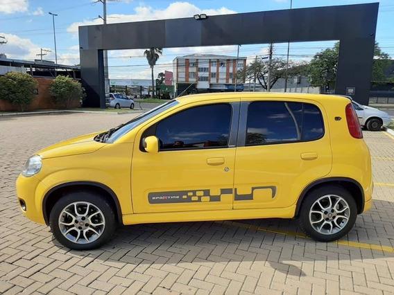 Fiat Uno Sporting 1.4 8v Flex 2012 Som Usb Roda Completo