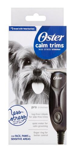 Maquina De Peluquería Canina Oster Calm Trims Mascotas