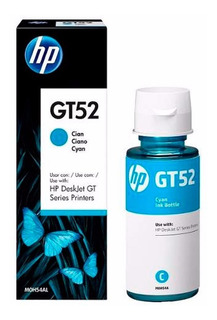 Tinta Hp Gt52 Cian Original M0h54al Deskjet Gt 5820 8000 Pag Tienda Oficial Hp