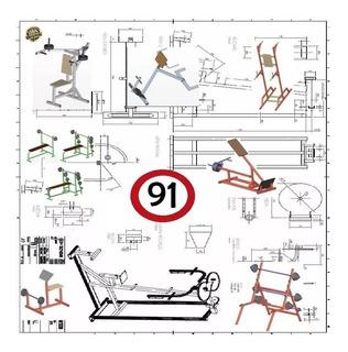 91 Planos Maquinas De Ejercicios Gimnasios Construir Gym