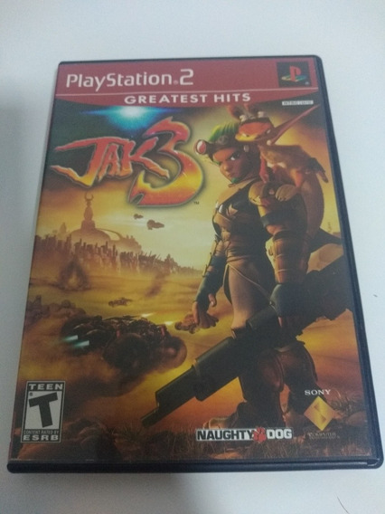 Jogo Jak 3 Playstation 2 Ps2 Original Ntsc Colecionador