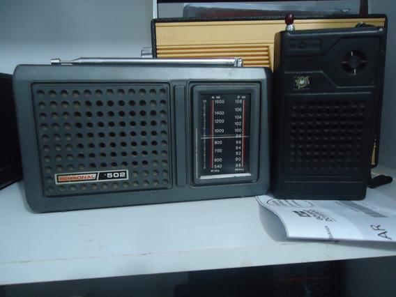 Lote Com 2 Radio Antigo 1 Dunga 3 E 1 Radio Delta 2 Faixas