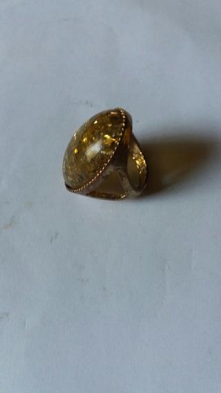 Antigo Anel Dourado Lindo