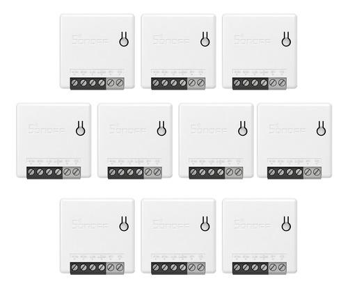 Imagen 1 de 9 de 10pcs Sonoff Minir2 Itead Bricolaje 2 Vías Wifi Smart Interr