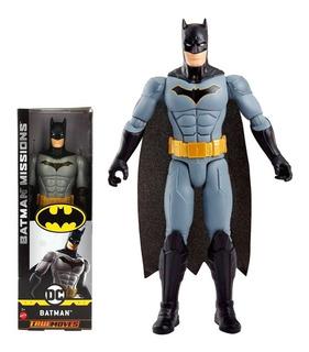 Figura Linea Batman Missions Dc 30cm. Somos Los Juguetes