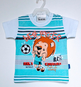 Camiseta Manga Curta Bebê Masculino Wrk Tamanho M
