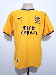Camisa Futebol Oficial Everton Inglaterra 2003 Away Puma M