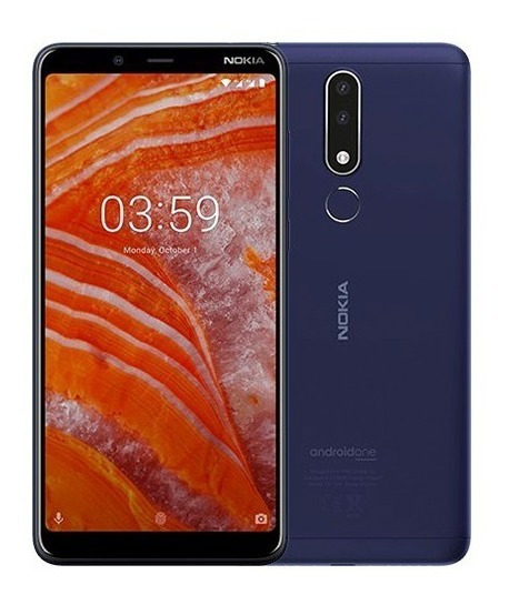 Nokia 3.1 Plus 16 Gb 4g Lte Azul 12 Cuotas - Prophone