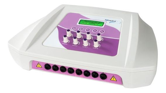 Electroestimulador Tekmedical - Ondas Rusas Y Cuadradas