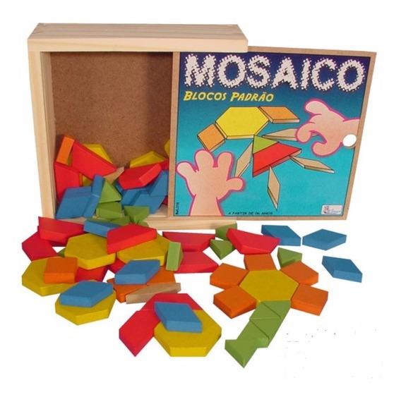 Jogo Mosaico Em Mdf