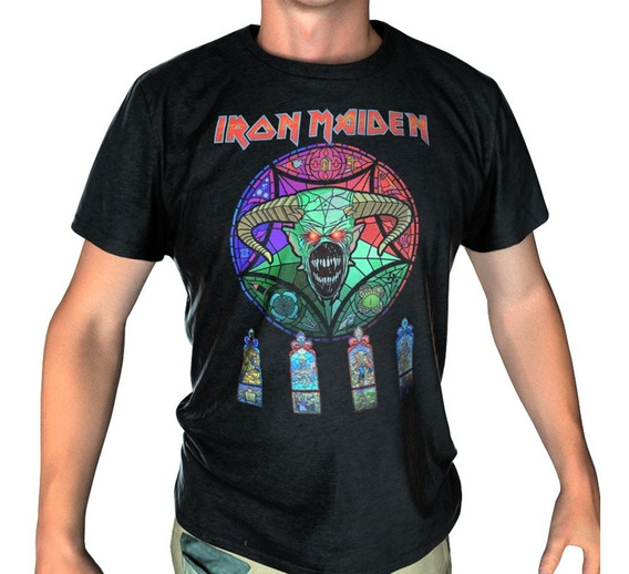 Camiseta, Iron Maiden, Legacy Of The Beast Stamp For All