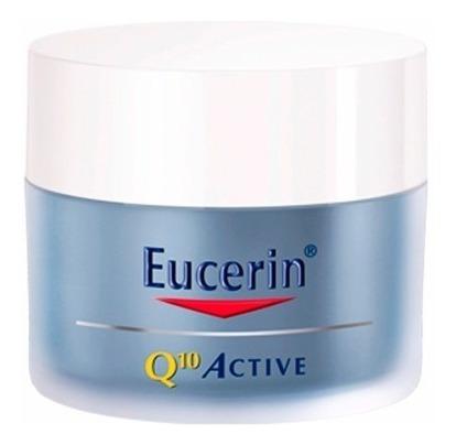 Crema Eucerin Q10 Active Antiarrugas Noche 50 Gr