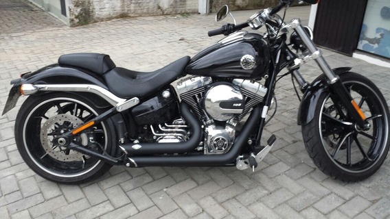 Escapamento Breakout Fat Boy Harley Davidson Shortshots