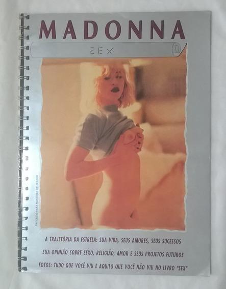 Madonna Revista Com Fotos Livro Sex E Outras Fotos Nacional