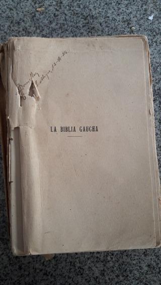 Livro La Biblia Gaucha Janier De Viana 1925 Raro