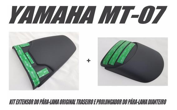 Extensor Do Paralama Dianteiro E Traseiro Yamaha Mt-07 Mt07