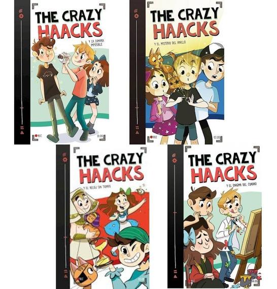 Pack Crazy Haacks - Camara Imposible/ Anillo / Reloj/ Cuadro