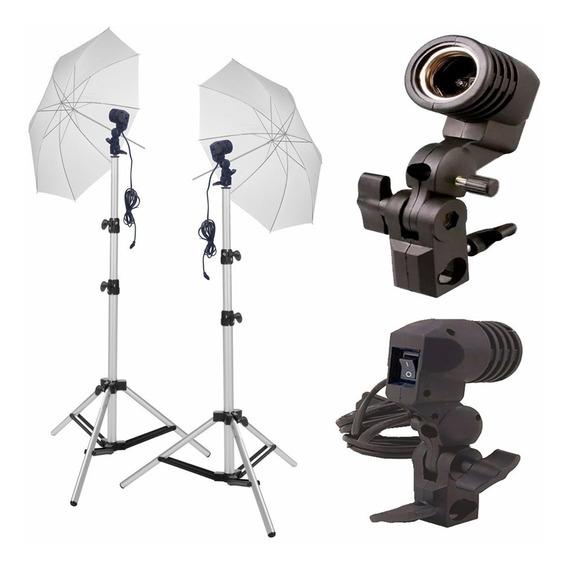 Kit Iluminação Contínua Para Estúdio Fotográfico E Vídeo