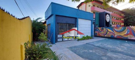 Casa Com 4 Dormitórios Para Alugar, 396 M² Por R$ 2.000,00/mês - Parangaba - Fortaleza/ce - Ca0213
