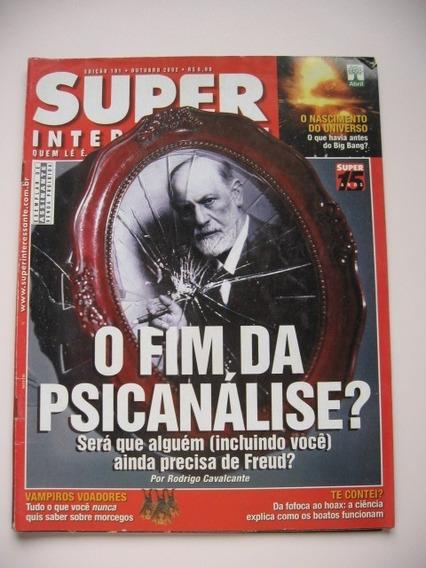 Revista Super Interessante - Nº 181 - O Fim Da Psicanálise?