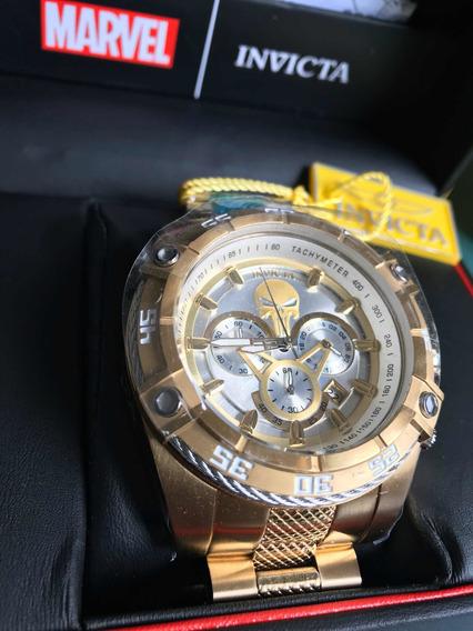 Relógio Invicta Justiceiro Edição Limitada 26864 Original