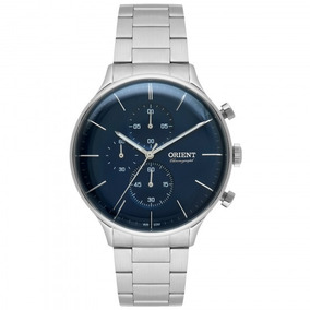 Relógio Orient Mbssc177 D1sx Prata Masculino - Refinado