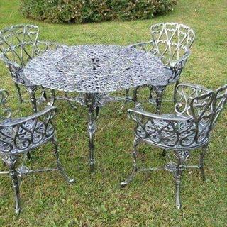 Muebles De Terraza Fierro Fundido Hogar Muebles Y