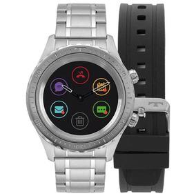 Relógio Technos Masculino Smartwatch Prata P01aa/1p