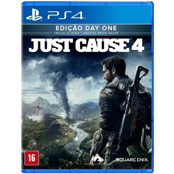 Game Just Cause 4 Day One Ps4 Midia Fisica Lacrado Dublado