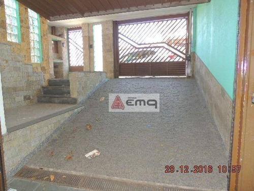 Sobrado Com 3 Dormitórios À Venda, 179 M² Por R$ 580.000,00 - Vila Nivi - São Paulo/sp - So0160