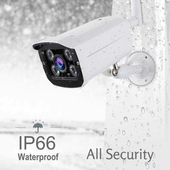 Camera All Security Ip66 Waterproof